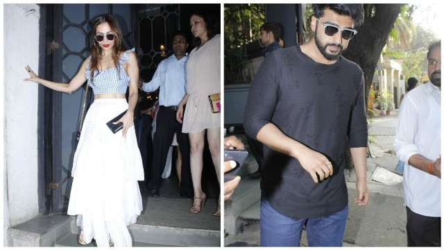 SPOTTED: 'Just Friends' Malaika Arora and Arjun Kapoor party together