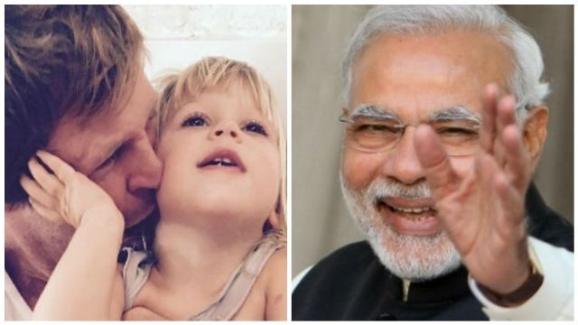Checkout PM Modi's special birthday wish for Jonty Rhodes' daughter 'India'
