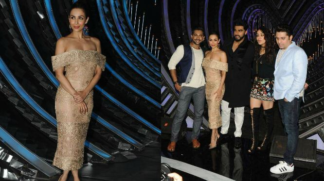 NACH BALIYE: Here are the FIRST PICTURES of Malaika Arora, Arjun Kapoor and Shraddha Kapoor from the sets