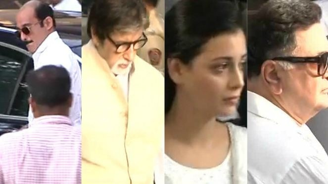 Vinod Khanna laid to rest: Images from his funeral
