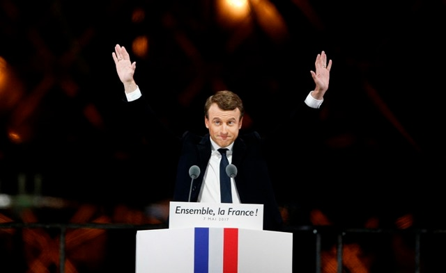 At 39, Emmanuel Macron becomes France's youngest president
