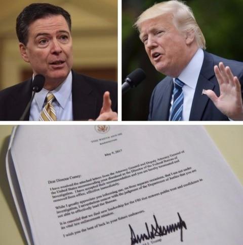 Trump fires FBI boss Comey, says 'was necessary to restore public trust'
