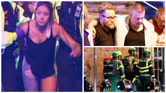 Ariana Grande concert attack in pictures