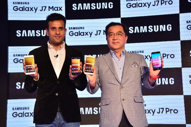 Samsung launches Galaxy J7 Pro, J7 Max in India