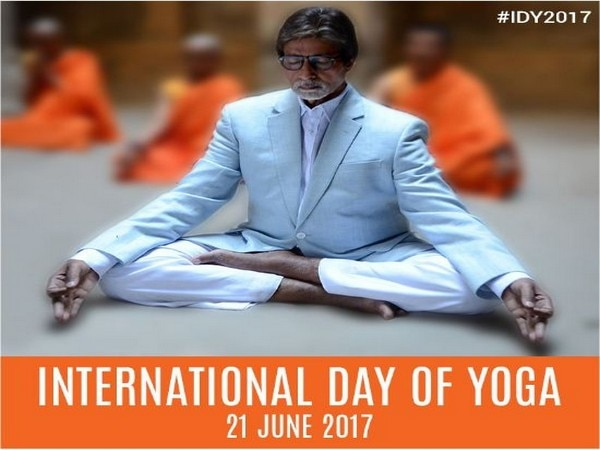 International Yoga Day: Big B goes into meditation mode in new photo