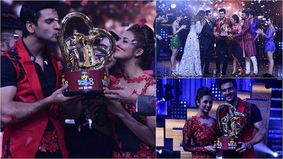 IN PHOTOS: Divyanka Tripathi And Vivek Dahiya Win Nach Baliye 8