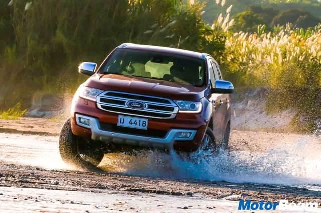 Ford SUV experience