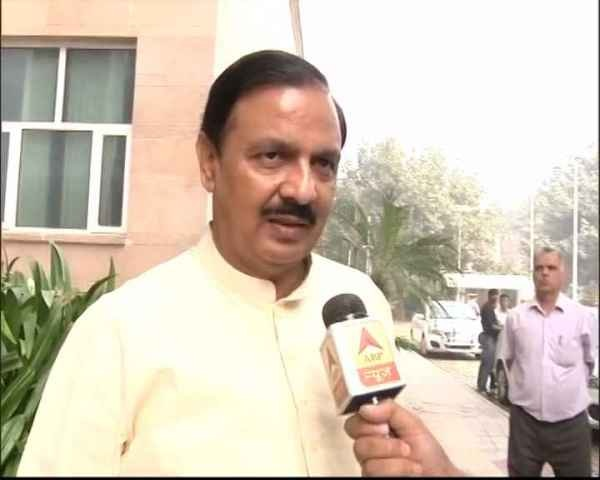 Will find solution to Delhi pollution in next 24 hrs: MoS (Environment) Mahesh Sharma