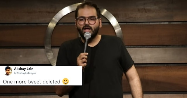 Comedian Kunal Kamra deletes his Twitter account after his old jokes on Muslims and sikhs goes viral