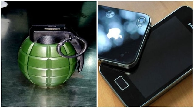 Bizarre! Delhi airport staff fails to differentiate between hand grenade and power bank