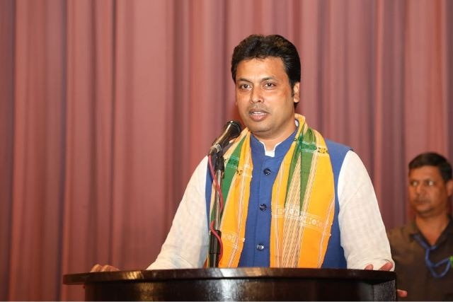 Biplab Kumar Deb to be the new chief minister of Tripura: BJP