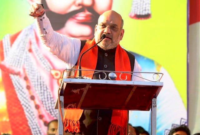 Afraid of 'Modi flood', snakes, mongoose, cats and dogs have united: Amit Shah on Opposition