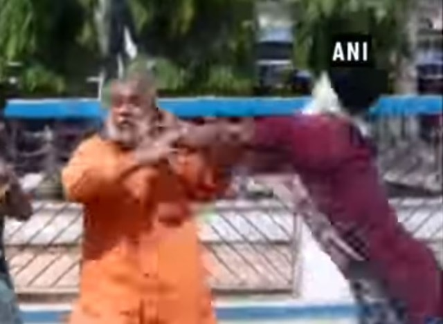 SHOCKING VIDEO: Watch BJP district secretary stabbed by unknown miscreants in West Bengal's Birbhum