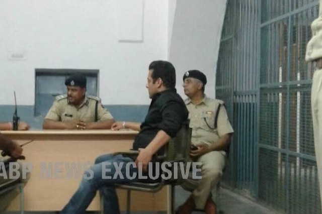 Salman Khan spends restless night in Jodhpur jail