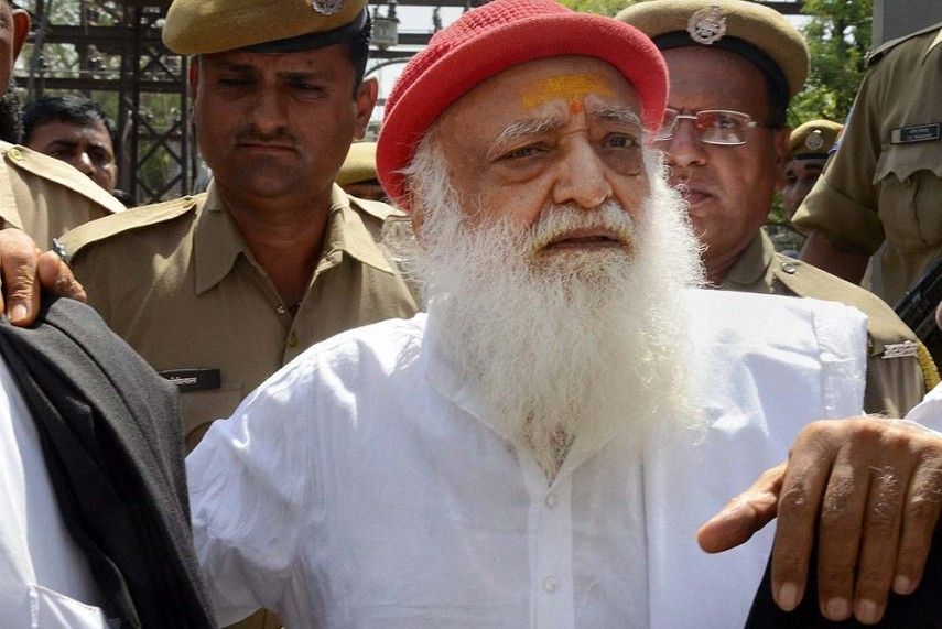 Prisoner No.130 Asaram spends sleepless night in Jodhpur jail after conviction
