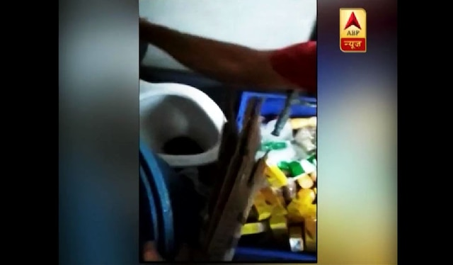 After video went viral, Railway slaps Rs 1 lakh fine on contractor for storing water bottles in toilet