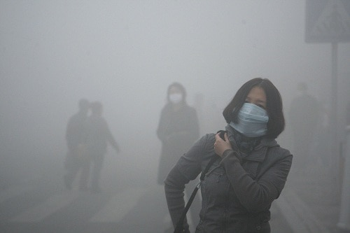 condom sale rise in Beijing due to Smog