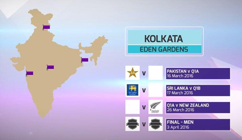ICC World T20 Schedule Announce