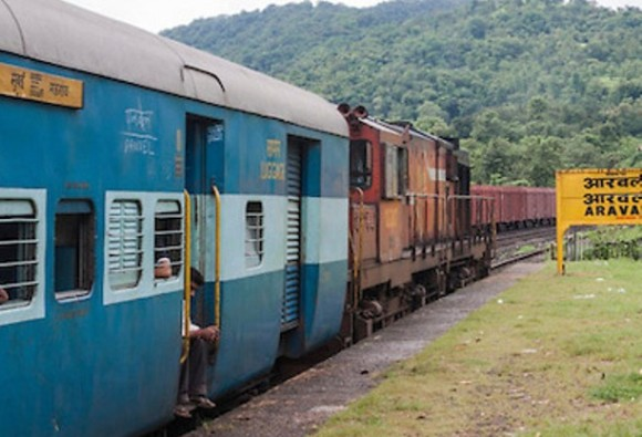 Elderly ladys leg stuck in commode of train toilet, rescued