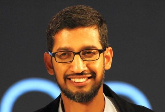 Sundar Pichai Promises Wi-Fi In 100 Railway Stations Across India By  2016