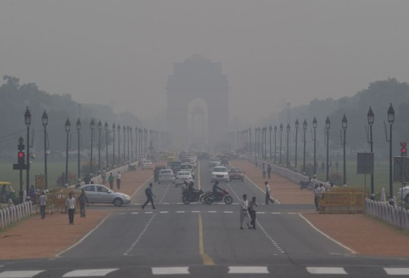 The coldest day of the season today in Delhi