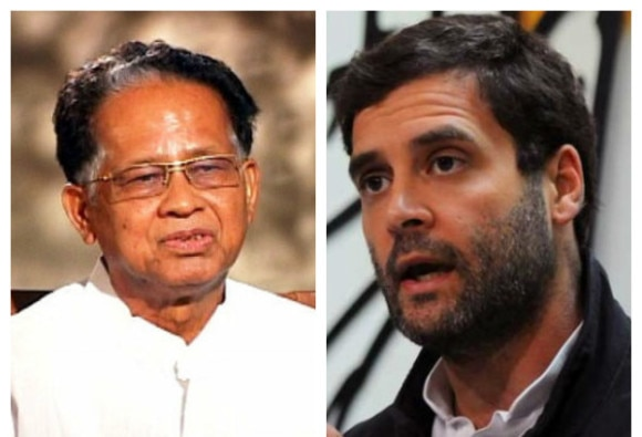 tarun gogoi to be cm candidate in assam polls says rahul gandhi