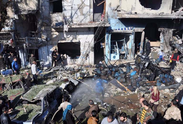 Car bomb near hospital in central Syria kills at least 16