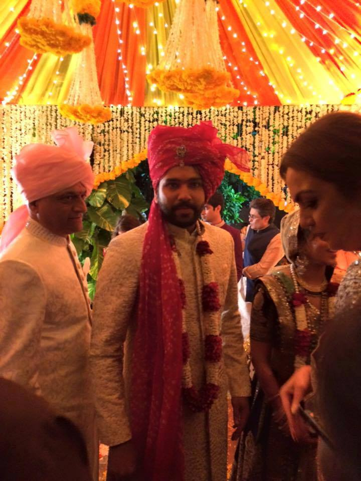 Rohit Sharma to got married today to Ritika Sajdeh