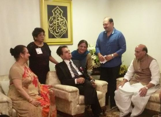 Padma Vibhushan presented to Dilip Kumar
