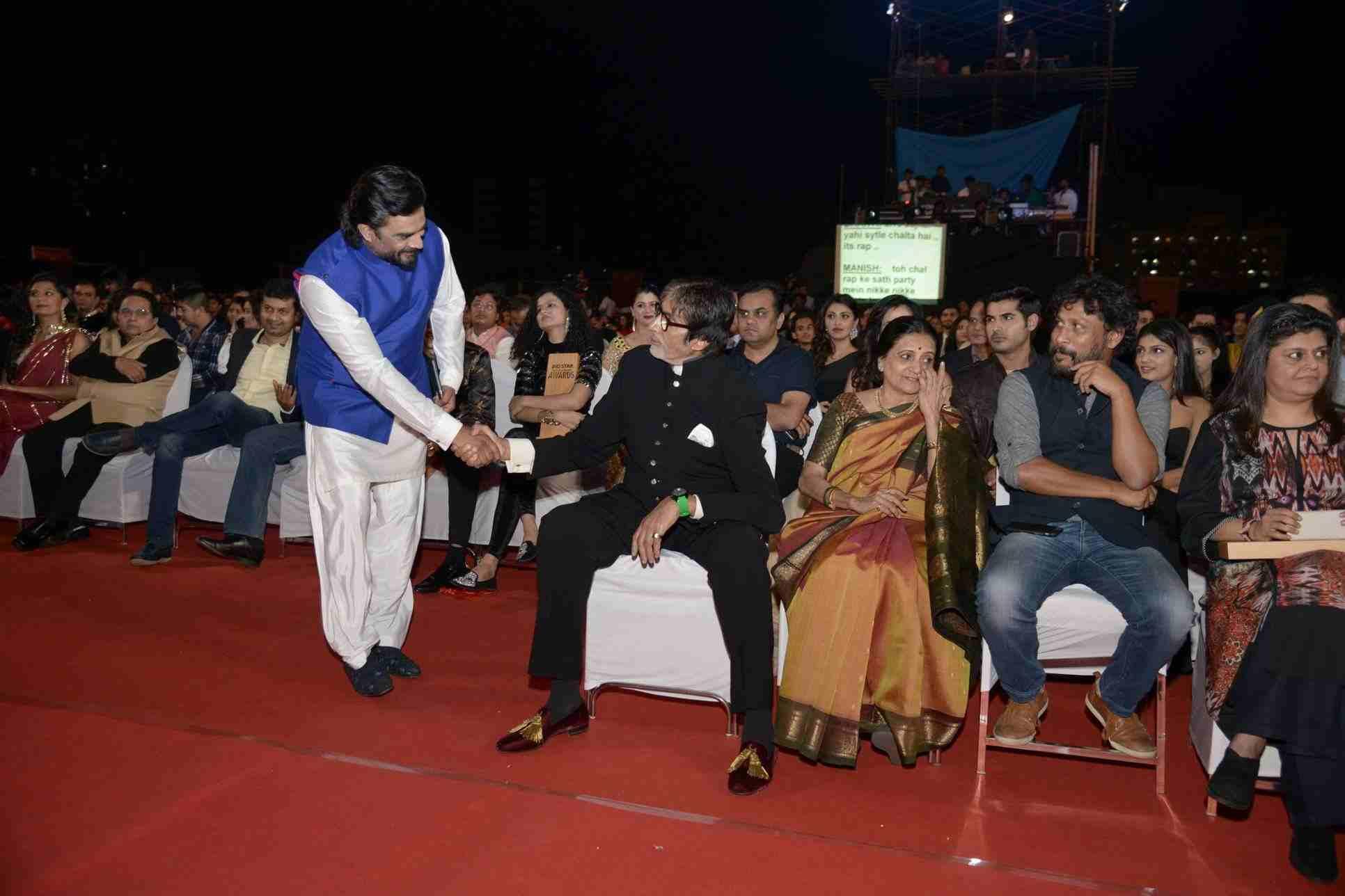 Madhavan, Sonam, Salman and many, Award functions meeting place for amitabh