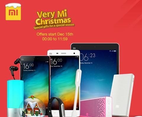Christmas offer: XaomI