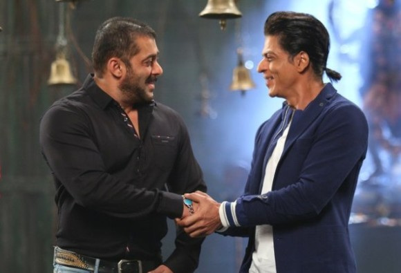 Working with Shah Rukh Khan in 'Bigg Boss' a good start: Salman Khan