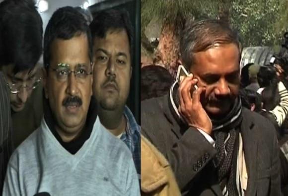 arvind kejriwal trying to save rajendra kumar?