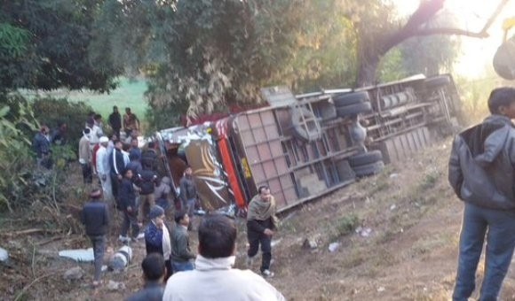 MP : 15 killed in Bus accident