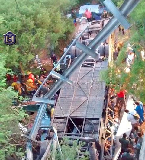 Argentina police bus crash kills at least 43