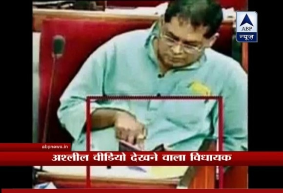 Congress MLA suspended from Odisha Assembly for watching porn