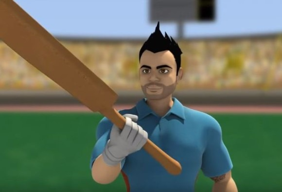Now, you can have Virat Kohli on your mobile phone
