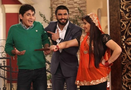 When Ranveer Singh helped Angoori bhabi