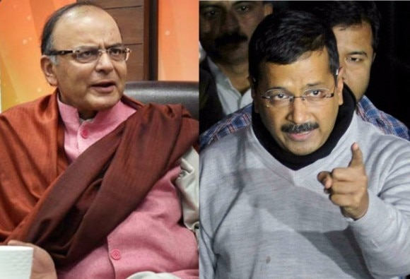 is kejriwal keeping eye on arun jaitley