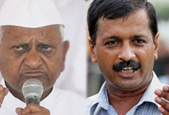 Anna Hazare criticized arvind kejriwal on Rajendra kumar issue