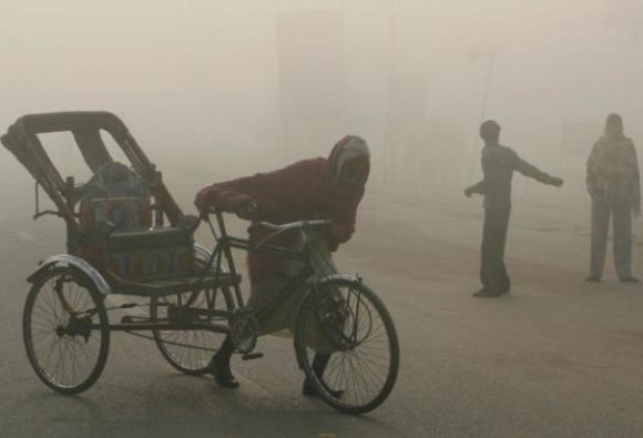 Cold Wave grips plains of North India