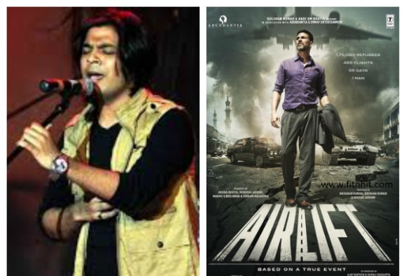 Song in Akshay Kumar's 'Airlift' an experiment for me, says Ankit Tiwari