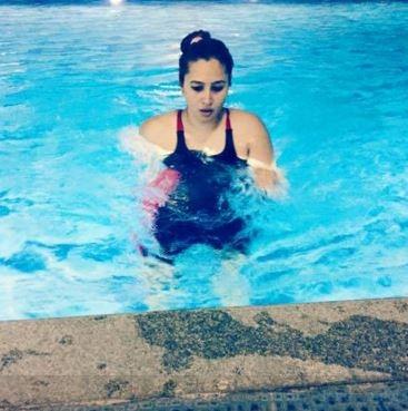 jwala gutta posts pool pics on social media accounts goes viral