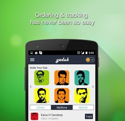 With the help of this app you can chnage your voice like Salman, Shahrukh and many Others