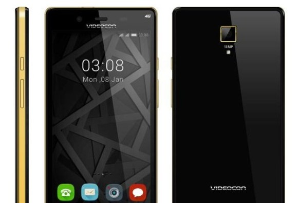 Videocon Z55 Krypton With 13 megapixel Camera Launched at Rs. 7,999