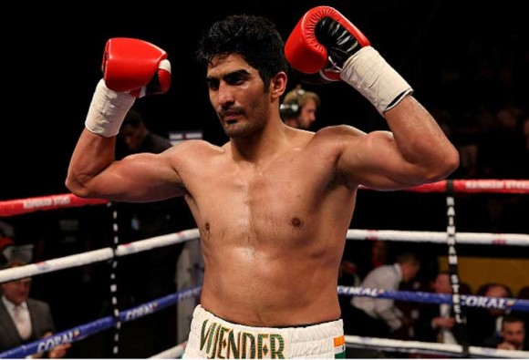 Vijender Singh's India debut set for July