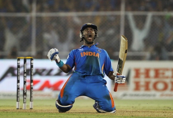 how yuvi back in team india