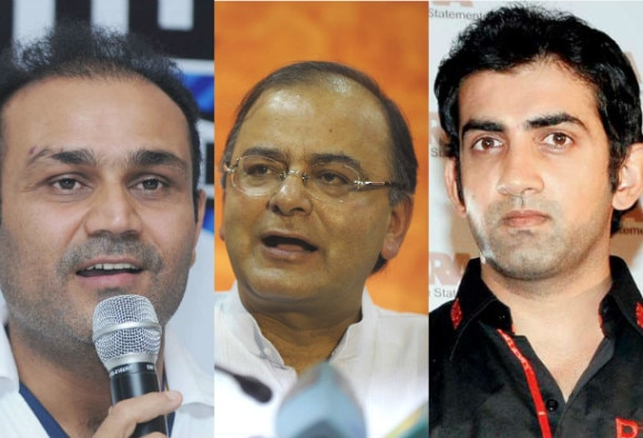 gautam ganbhir came in support of jaitly after sehwag
