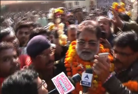 Vyapam accused Laxmikant Sharma has been released from Jail