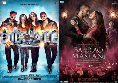 Box Office: 2nd day collection Of 'Dilwale' and 'Bajirao mastani'